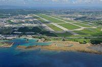 那覇空港・滑走路閉鎖 JAL機が嘉手納基地に着陸