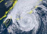 【速報】沖縄本島北部に暴風警報 台風25号