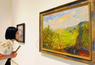 県立博物館・美術館で開催中の、「ゴッホ、モネ、セザンヌ巨匠たちの奇跡」展