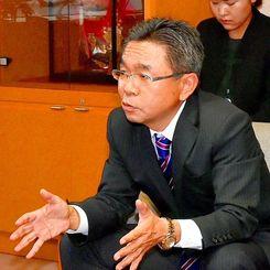 沖縄防衛局の中嶋浩一郎局長