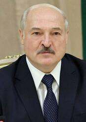 ベラルーシのルカシェンコ大統領(タス=共同)