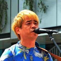 ステージで自身の楽曲を披露する琉球 HALさん=13日、東京都墨田区の東京スカイツリー前広場