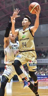 琉球キングス、横浜に83―42 バスケBリーグ