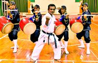 武と舞の融合、琉球國祭り太鼓と共演 明治神宮で奉納演武へ