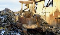 「普通では考えられない火の勢い」 リサイクル工場火災「鎮圧」に13時間