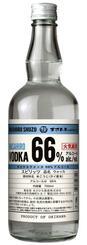 高濃度アルコールのスピリッツ「まさひろウォッカ66%アルコール」(まさひろ酒造提供)