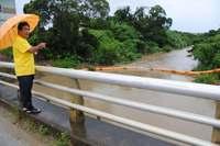 氾濫防止策の壁は米軍弾薬庫、「共同使用」の許可下りず 沖縄市知花「比謝川」河川改修