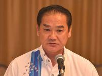 沖縄県知事選:佐喜真氏が出馬決意「沖縄のために頑張る」 選考委要請を受諾