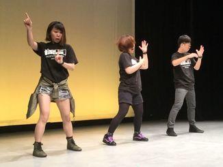 「琉9」のダンスパフォーマンス
