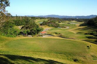 新しいテーマパークの開発が予定されているオリオン嵐山ゴルフクラブ