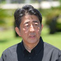 「沖縄の皆さんに深くおわび」「任命責任は私に」 安倍首相、松本氏やじで陳謝重ねる