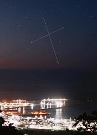 南十字星の撮影に成功 石垣島天文台 元旦も見頃です