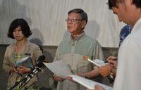 翁長知事、日米首脳会談に失望感 「中身まったく無い」