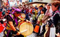 沖縄芸能、神戸で満開 GOGOハイサイフェアin三宮