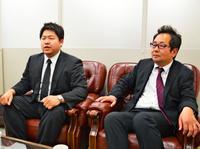 課題と「発展」への思い 前に進むために、粘り強く 福島の地元紙