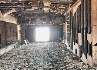 胸が痛む多数の内部写真\u2026 首里城火災、甚大な被害が明らかに