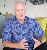 沖縄の文化を売りに誘客 ハイアットホテルズのアジア太平洋地区グループプレジデント、デイビッド・ユデル氏に聞く