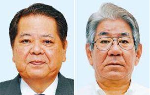 (左から)上原昭氏、上原裕常氏