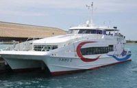 八重山離島航路で唯一のソファ席も 新造船「うみかじ2」試乗会