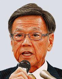 沖縄県の翁長知事、検査手術終える きょう復帰見通しなど説明