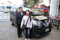 那覇で1回300円の乗合タクシー 好評で1月から本格運行へ