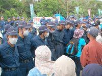 車の通行を2時間以上制止… 県警側の違法性を認定 高江ヘリパッド抗議で那覇地裁