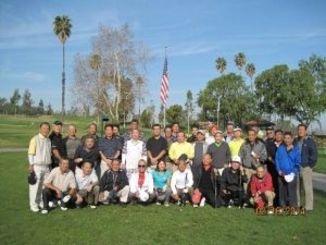 40年余毎月例会を開き、500回の記念大会を開いた沖縄ゴルフクラブ=ロスセラノス・カントリークラブ