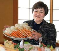 特産のカニを食べに来て 大雪被害の福井県越前町がPR