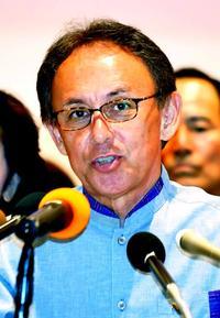 玉城氏、辺野古新基地「断固反対」 沖縄知事選へ政策発表 工事止める具体策は示さず