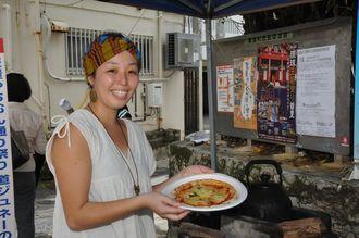 通年参加の石窯焼きピザ店