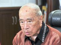 大田元沖縄知事、ノーベル賞候補に 敵味方超えて戦没者の名刻む「平和の礎」創設に関わる