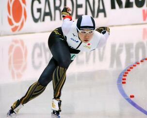 女子1500メートルで8位だった小平奈緒=ヌルスルタン(共同)
