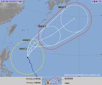 台風5号:9日には沖縄の南海上へ 高波に注意