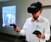 VRでモデルルーム紹介 大晋建設、コスト大幅減 内装色を瞬時に比較