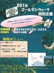 【6】つつじエコパーク ゴールデンウィーク特別体験企画