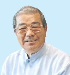 死去した久米島の久米仙会長の島袋周仁さん
