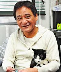 うつと向き合う猫の癒やし力 「猫力」原作の仲村清司さん