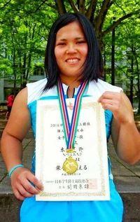 日本学生陸上 ハンマー本村 初制覇 県記録に迫る58メートル22