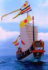 老朽化で廃船が決まった進貢船「南都丸」(南都提供)