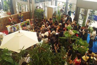 「沖縄e‐noデパート」タイムスビルで開催中です。
