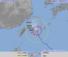 台風18号の予想進路図(気象庁HPから)