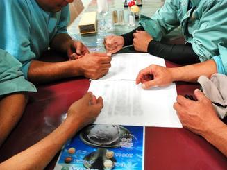 組合員の結束は固いが、待遇改善に応じない会社の姿勢にいらだちが募る