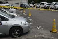 沖縄・読谷村役場で公用車11台がパンク 器物損壊の疑い