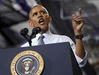 オバマ氏がFBI長官批判 メール問題再捜査で