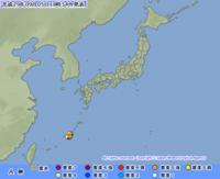 宜野湾市と恩納村で震度2 沖縄 津波の心配なし