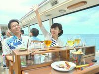 話題の「レストランバス」が沖縄でも運行 シェフの料理と絶景味わう