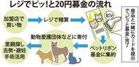 犬や猫の殺処分ゼロへ 20円から「レジでピッ!」沖縄のペットショップの取り組み
