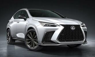 全面改良されるトヨタ自動車の高級ブランド「レクサス」のSUV「NX」