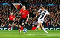 ユベントス、マンU下し3連勝 サッカーの欧州CL