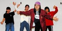 沖縄からダンスで挑む日本一 上原紅葉さん(仲井真中)「堂々と踊りたい」